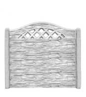 Betonový plot vzor 3