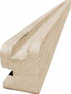 Betonový sloupek rohový na 1,5 m plot (220 cm)