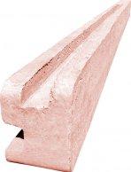 Betonový sloupek rohový na 2,0 m plot (280 cm)