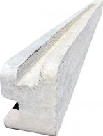 Betonový sloupek rohový na 2,5 m plot (340 cm)